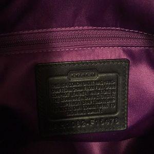 Coach Bags - Coach black leather handbag crossbody and shoulder